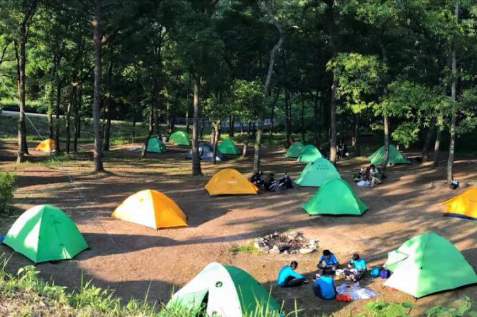 くぎのキャンプ場